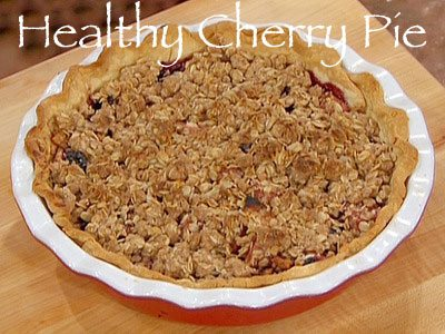 Healthy Cherry Pie Recipe