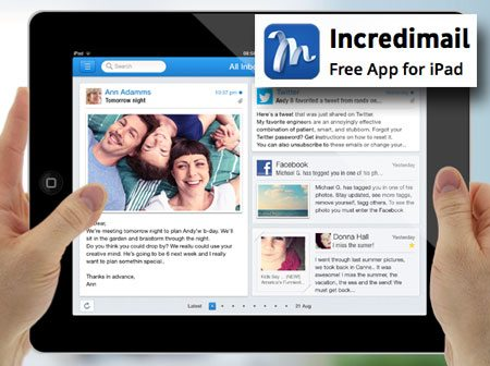 Incredimail iPad App Review