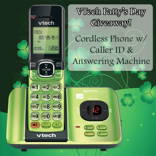 VTech Cordless Phone Pattys Day Giveaway