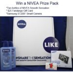 NIVEA Smooth Sensation Samsung Smart Camera Giveaway : (Ends 3/17)