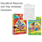 Free Educational Worksheets and Other Resources