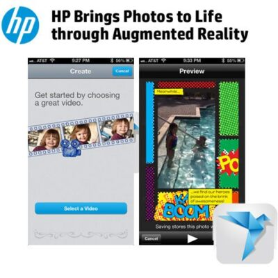 HP Live Photo App Bring Your Cards to Life