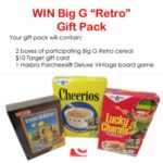 Big G Retro Gift Pack Giveaway : (Ends 4/11)