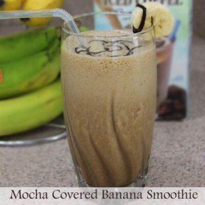 Mocha Covered Banana Smoothie Recipe