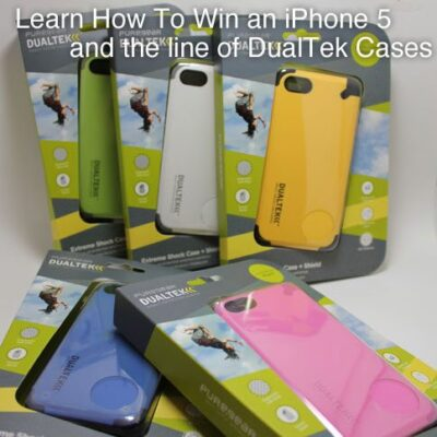 Win an iPhone 5 and a PureGear DualTek Case To Keep it Safe