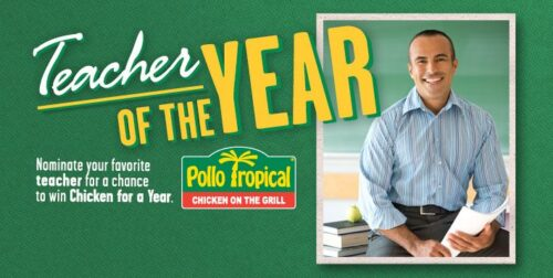 Pollo Tropical Teacher of the Year