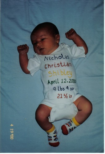 Fun and Inexpensive Birth Announcement