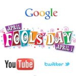 Social Media and Major Search Engines Say Happy April Fool's Today