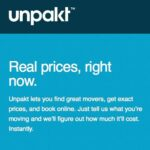 Deal Alert: Save Money when Moving with Unpakt