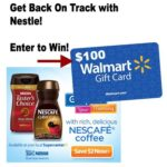 Getting Back on Track Nestle $100 Walmart Gift Card Giveaway : (Ends 4/29)