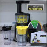 Juice Juice and More Juice with BELLA NutriPro Juicer