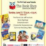 The Book Shop Book Fair Hosted at Aventura Mall in South Florida