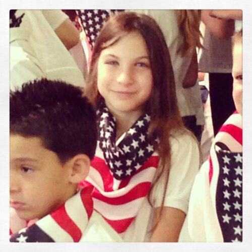 1st grade Memorial Day show