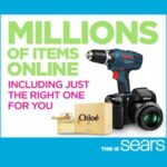 More At Sears and In Your Pocket
