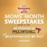 Residence Inn Celebrates Mom in May Lots of Giveaways