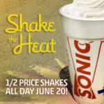 Nothing Beats The Heat Like A Creamy Shake