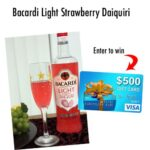 Bacardi Perfect Poolside Drink  $500 Visa Gift Card Giveaway : (Ends 6/27)