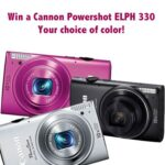 Canon Powershot Camera Giveaway and CooperVision Photo Contest : (Ends 8/12)