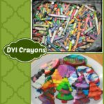 DYI Re-Purpose Old Crayons Project