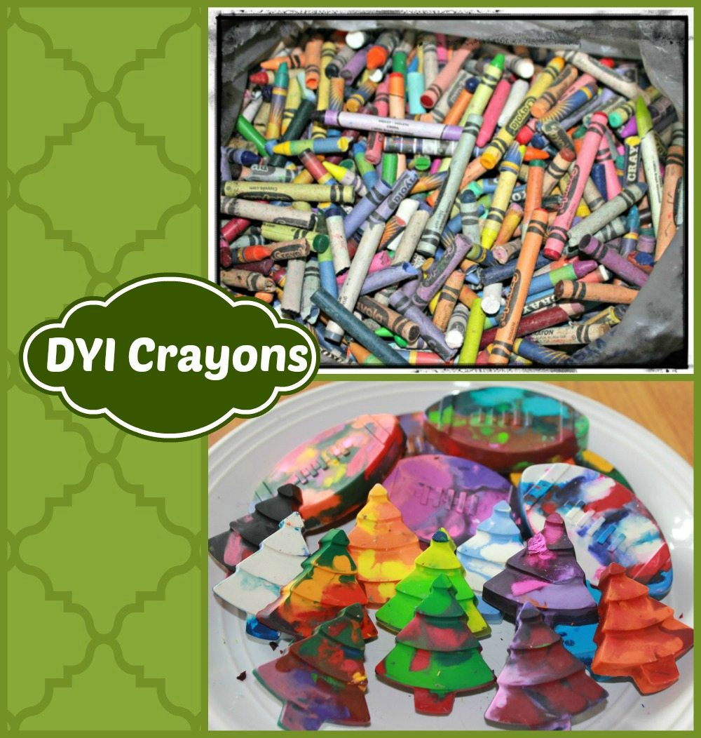 Crayons Mail: DYI Re-Purpose Old Crayons Project