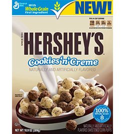 Hershey's Cookies and Creme Cereal
