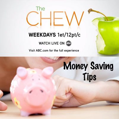 The Chew : Saving You Money Tips With Flare