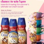 International Delight Cold Stone Flavors Combines Ice Cream and Coffee and YOU WIN!