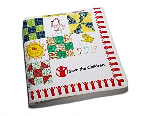 T.J.Maxx Save the Children Quilt