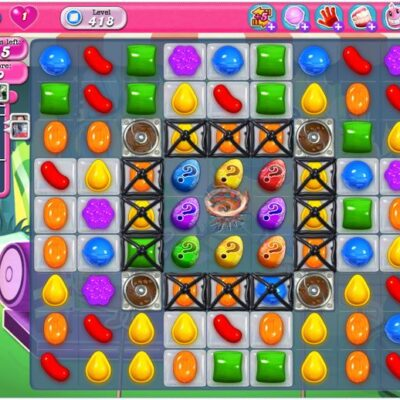 Candy Crush Level 418 Tips