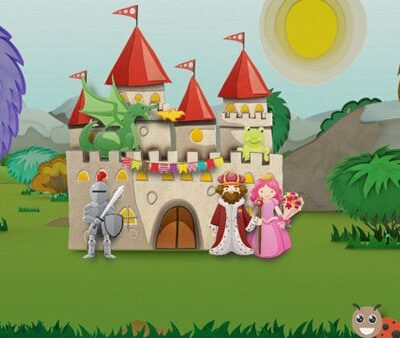 Inspire Creative Storytelling in Your Toddler : Magic Castle App