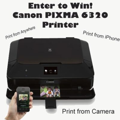 Back To School Canon PIXMA 6320 Printer Giveaway : (Ends 9/15)