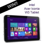 Intel Acer Iconia W3 8.1″ Tablet