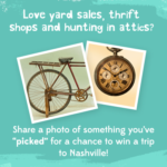 Your Garage Sale Find Could Win You a Trip to Nashville