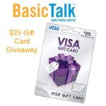 Security and Piece of Mind with BasicTalk $25 Visa Gift Card Giveaway : (Ends 10/9)
