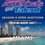 Audition for America's Got Talent Season 9 in Miami