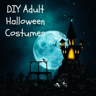 DIY Adult Halloween Costumes and Easy Costume Tips