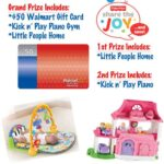 Share the Joy Fisher-Price Gift Pack & $50 Walmart GC Giveaway (3 winners): (Ends 10/31)