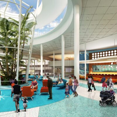 The New Cabana Bay Beach Resort is an Attraction Its Self