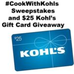 #CookWithKohl's Sweepstakes and $25 Kohl's Gift Card Giveaway : (Ends 12/15)