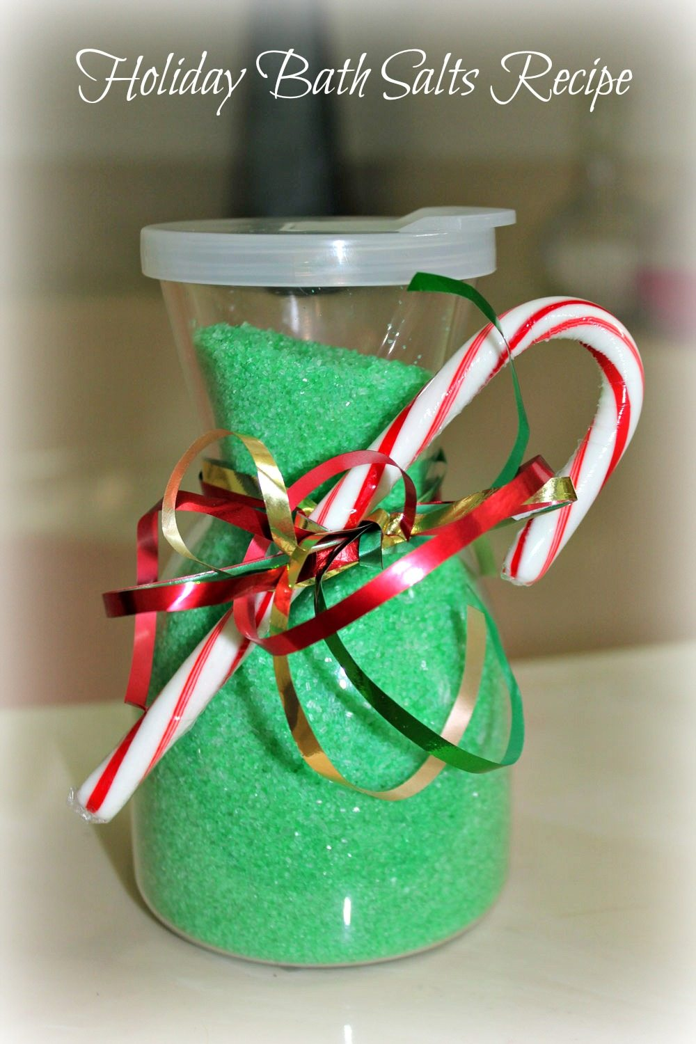 Holiday Bath Salt Recipe