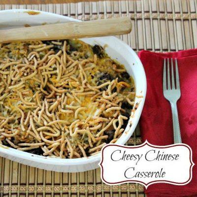Cheesy Chinese Casserole Recipe