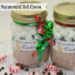 DIY Peppermint Hot Cocoa in a Jar