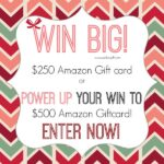 Pick UR Gift Wish Lists $250 or $500 Amazon Gift Card Giveaway : (Ends 12/31)