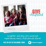 Laughter and Play : Help Create Childhood Memories