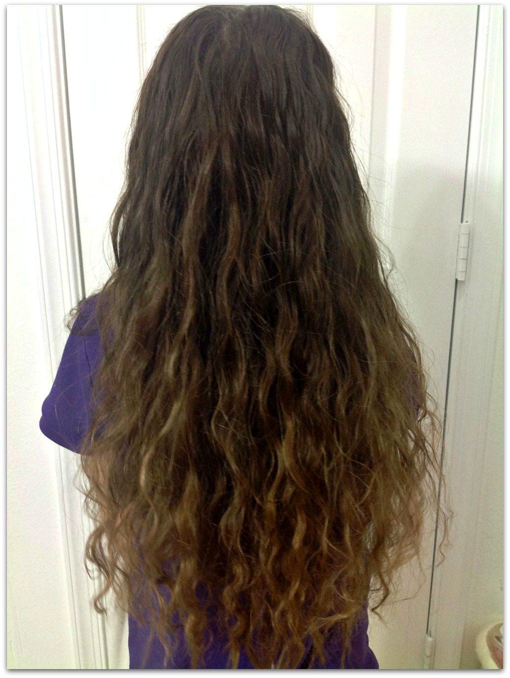 Braid Created Wavy Hair