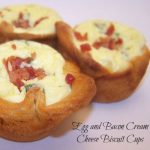 Egg, Bacon and Cream Cheese Biscuit Cups Recipe