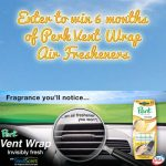 Wake Up Your Space with PERK Vent Wrap 6 Month Giveaway : (Ends 3/5)