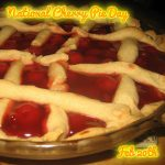 Happy National Cherry Pie Day