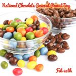 Happy National Chocolate Covered Peanut Day