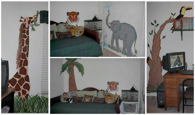 safari-themed-mural